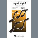 Download or print Mervyn Warren Joyful, Joyful (from Sister Act 2) (arr. Roger Emerson) Sheet Music Printable PDF 10-page score for Gospel / arranged 2-Part Choir SKU: 425766.
