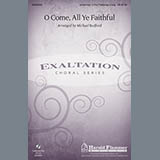 Download or print Michael Bedford O Come, All Ye Faithful Sheet Music Printable PDF 7-page score for Children / arranged Unison Choir SKU: 88225.
