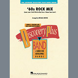 Download Michael Brown ''60s Rock Mix - Conductor Score (Full Score)' Printable PDF 27-page score for Rock / arranged Concert Band SKU: 370989.