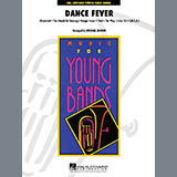 Download Michael Brown 'Dance Fever - Full Score' Printable PDF 10-page score for Pop / arranged Concert Band SKU: 272200.