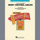 Download or print Michael Brown Merry Christmas, Darling - Eb Alto Saxophone 2 Sheet Music Printable PDF 1-page score for Christmas / arranged Concert Band SKU: 353105.