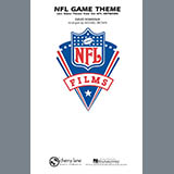 Download Michael Brown 'NFL Game Theme - Bb Tenor Sax' Printable PDF 1-page score for Film/TV / arranged Marching Band SKU: 276837.