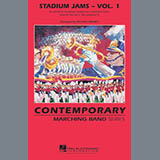 Download Michael Brown 'Stadium Jams - Vol. 1 - Cymbals' Printable PDF 1-page score for Film/TV / arranged Marching Band SKU: 276644.