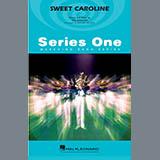 Download Michael Brown 'Sweet Caroline - Baritone B.C. (Opt. Tbn. 2)' Printable PDF 1-page score for Pop / arranged Marching Band SKU: 364984.
