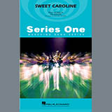 Download Michael Brown 'Sweet Caroline - Baritone T.C.' Printable PDF 1-page score for Pop / arranged Marching Band SKU: 364985.