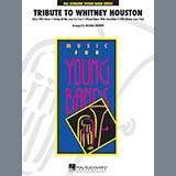 Download Michael Brown 'Tribute To Whitney Houston - Conductor Score (Full Score)' Printable PDF 8-page score for Pop / arranged Concert Band SKU: 307772.