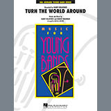 Download or print Michael Brown Turn the World Around - Oboe Sheet Music Printable PDF 1-page score for Children / arranged Concert Band SKU: 329550.