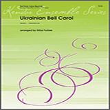 Download or print Michael Forbes Ukrainian Bell Carol - 1st Baritone B.C. Sheet Music Printable PDF 3-page score for Classical / arranged Brass Ensemble SKU: 325751.