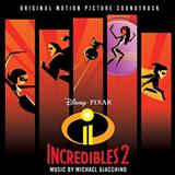 Download or print Michael Giacchino Diggin' The New Digs (from The Incredibles 2) Sheet Music Printable PDF 3-page score for Children / arranged Piano Solo SKU: 254793.