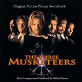 Download Michael Kamen 'The Three Musketeers (D'Artagnan (Galliard & Air))' Printable PDF 2-page score for Film/TV / arranged Piano Solo SKU: 120794.