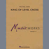 Download Michael Oare 'King of Level Cross - Trombone/Baritone B.C.' Printable PDF 1-page score for Concert / arranged Concert Band SKU: 379428.