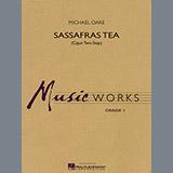Download or print Michael Oare Sassafras Tea (Cajun Two-Step) - Baritone T.C. Sheet Music Printable PDF 1-page score for Cajun / arranged Concert Band SKU: 299770.