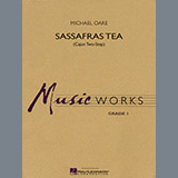 Download or print Michael Oare Sassafras Tea (Cajun Two-Step) - Eb Alto Saxophone Sheet Music Printable PDF 1-page score for Cajun / arranged Concert Band SKU: 299762.