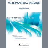 Download Michael Oare 'Veterans Day Parade - Bb Tenor Saxophone' Printable PDF 1-page score for American / arranged Concert Band SKU: 378489.
