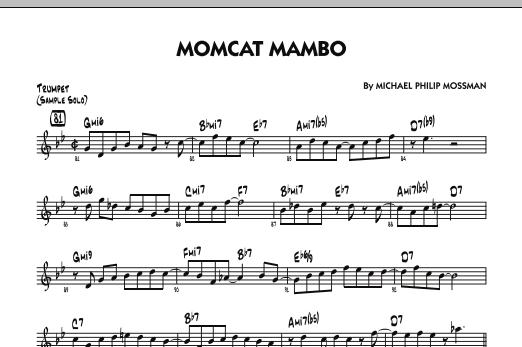 Michael Philip Mossman Momcat Mambo - Solo Sheet - Trumpet sheet music notes and chords