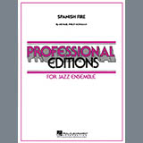 Download Michael Philip Mossman 'Spanish Fire - Drums' Printable PDF 4-page score for Jazz / arranged Jazz Ensemble SKU: 285335.