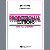 Download Michael Philip Mossman 'Spanish Fire - Piano' Printable PDF 8-page score for Jazz / arranged Jazz Ensemble SKU: 285333.