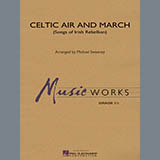Download Michael Sweeney 'Celtic Air and March (Songs of Irish Rebellion) - Conductor Score (Full Score)' Printable PDF 16-page score for Celtic / arranged Concert Band SKU: 328681.