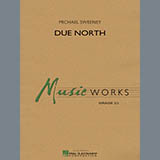 Download or print Michael Sweeney Due North - String Bass Sheet Music Printable PDF 2-page score for Concert / arranged Concert Band SKU: 328817.