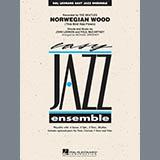 Download Michael Sweeney 'Norwegian Wood (This Bird Has Flown) - Bb Clarinet 1' Printable PDF 2-page score for Pop / arranged Jazz Ensemble SKU: 309534.