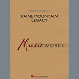 Download Michael Sweeney 'Paine Mountain Legacy - Mallet Percussion 1' Printable PDF 1-page score for Contest / arranged Concert Band SKU: 454883.