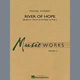 Download or print Michael Sweeney River of Hope - Eb Alto Saxophone 1 Sheet Music Printable PDF 2-page score for Spiritual / arranged Concert Band SKU: 278315.