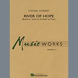 Download or print Michael Sweeney River of Hope - Eb Baritone Saxophone Sheet Music Printable PDF 2-page score for Spiritual / arranged Concert Band SKU: 278318.