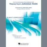 Download Michael Sweeney 'Theme from Jurassic Park - Bb Bass Clarinet' Printable PDF 1-page score for Classical / arranged Concert Band SKU: 346938.