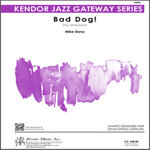 Easily Download Mike Dana Printable PDF piano music notes, guitar tabs for Jazz Ensemble. Transpose or transcribe this score in no time - Learn how to play song progression.