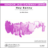 Download Mike Dana 'Hey Benny - Eb Baritone Saxophone' Printable PDF 2-page score for Jazz / arranged Jazz Ensemble SKU: 326388.