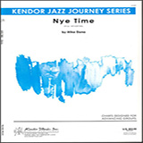 Download or print Mike Dana Nye Time - 1st Bb Trumpet Sheet Music Printable PDF 2-page score for Hip-Hop / arranged Jazz Ensemble SKU: 404842.