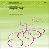 Download or print Mike Forbes Simple Gifts - 1st Baritone T.C. Sheet Music Printable PDF 1-page score for Classical / arranged Brass Ensemble SKU: 325732.