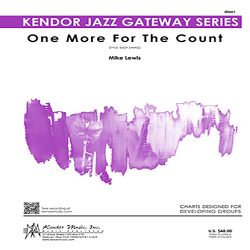 Easily Download Mike Lewis Printable PDF piano music notes, guitar tabs for Jazz Ensemble. Transpose or transcribe this score in no time - Learn how to play song progression.