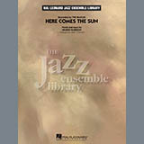 Download Mike Tomaro 'Here Comes the Sun - Aux Percussion' Printable PDF 3-page score for Oldies / arranged Jazz Ensemble SKU: 332174.