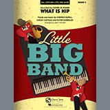 Download Mike Tomaro 'What Is Hip - Drums' Printable PDF 3-page score for Funk / arranged Jazz Ensemble SKU: 303224.