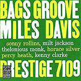 Download or print Miles Davis Bags' Groove (Take 2) Sheet Music Printable PDF 6-page score for Jazz / arranged Electric Guitar Transcription SKU: 419153.