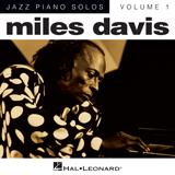 Download or print Miles Davis Milestones Sheet Music Printable PDF 5-page score for Jazz / arranged Piano Solo SKU: 24888.