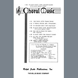 Download or print Mitchell B. Southall In Silent Night (A Christmas Vignette in Pastel) Sheet Music Printable PDF 5-page score for A Cappella / arranged SATB Choir SKU: 472395.