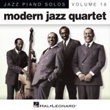 Download or print Modern Jazz Quartet Skating In Central Park (arr. Brent Edstrom) Sheet Music Printable PDF 5-page score for Jazz / arranged Piano Solo SKU: 88336.