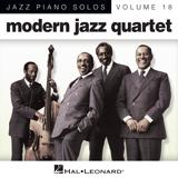 Download Modern Jazz Quartet 'The Golden Striker (arr. Brent Edstrom)' Printable PDF 6-page score for Jazz / arranged Piano Solo SKU: 88323.