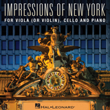 Download or print Mona Rejino Impressions Of New York Sheet Music Printable PDF 21-page score for Jazz / arranged Instrumental Duet and Piano SKU: 487461.