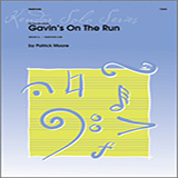 Download or print MOORE Gavin's On The Run Sheet Music Printable PDF 2-page score for Concert / arranged Percussion Solo SKU: 125016.