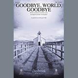 Download or print Mosie Lister Goodbye, World, Goodbye (arr. Keith Christopher) Sheet Music Printable PDF 11-page score for Gospel / arranged TTBB Choir SKU: 431744.