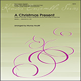 Download Murray Houllif 'A Christmas Present - Percussion 5' Printable PDF 2-page score for Christmas / arranged Percussion Ensemble SKU: 404534.
