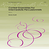 Download or print Murray Houllif Contest Ensembles For Intermediate Percussionists - Percussion 6 Sheet Music Printable PDF 2-page score for Concert / arranged Percussion Ensemble SKU: 368903.
