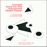 Download Murray Houllif 'Contest Solos For The Advanced Mallet Player' Printable PDF 16-page score for Classical / arranged Percussion Solo SKU: 381734.