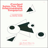 Download Murray Houllif 'Contest Solos For The Intermediate Timpanist' Printable PDF 16-page score for Concert / arranged Percussion Solo SKU: 371416.
