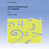 Download Murray Houllif 'Festival Repertoire For Mallets' Printable PDF 14-page score for Classical / arranged Percussion Solo SKU: 380378.