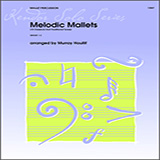 Download or print Murray Houllif Melodic Mallets (10 Classical And Traditional Tunes) Sheet Music Printable PDF 11-page score for Concert / arranged Percussion Solo SKU: 125011.