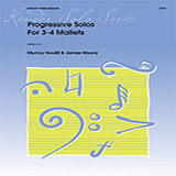 Download Murray Houllif 'Progressive Solos For 3-4 Mallets' Printable PDF 23-page score for Contest / arranged Percussion Solo SKU: 371349.